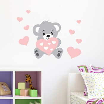 Autocolant Ambiance Teddy Rose