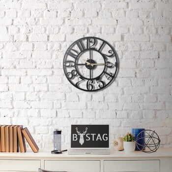 Ceas din metal pentru perete The Old Times, 50 x 50 cm la pret 356 lei