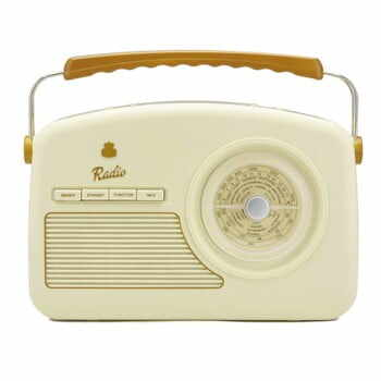 Radio GPO Rydell Nostalgic Dab Radio Cream, crem alb la pret 385 lei