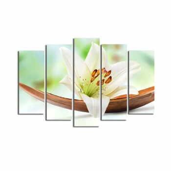 Tablou din mai multe piese Lily, 105 x 70 cm la pret 304 lei
