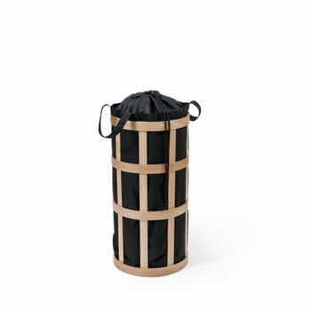 Coș pentru rufe Wireworks Cage, natur, cu sac negru la pret 963 lei