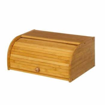 Cutie din lemn de bambus pentru pâine Unimasa, 27 x 16,5 cm la pret 168 lei