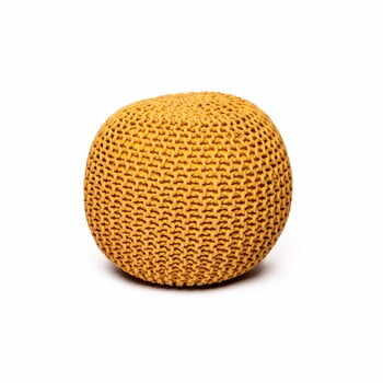 Puf loomi.design, galben muștar la pret 269 lei