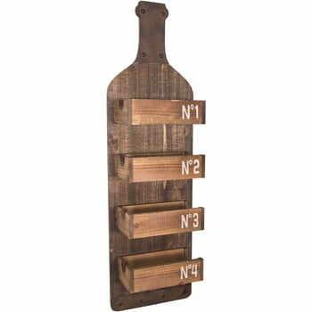 Raft din lemn pentru perete Antic Line Bottle la pret 275 lei