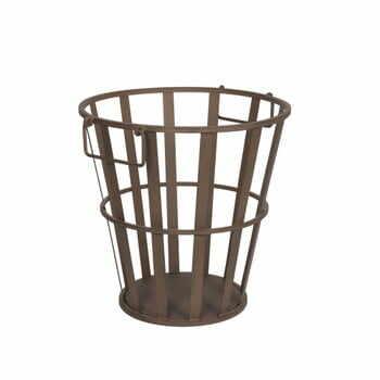 Coș metalic pentru lemne Antic Line, înălțime 41 cm la pret 277 lei