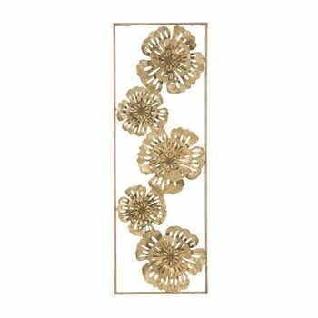 Decorațiune de perete Mauro Ferretti Luxy Natura, auriu la pret 306 lei