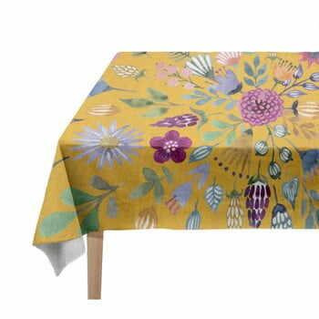 Față de masă Madre Selva Colourful Flowers, 140 x 250 cm la pret 320 lei