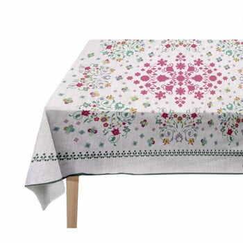 Față de masă Madre Selva Flowers Tapestry, 140 x 140 cm la pret 222 lei