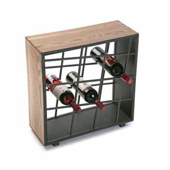 Suport din lemn pentru sticle de vin Versa la pret 461 lei