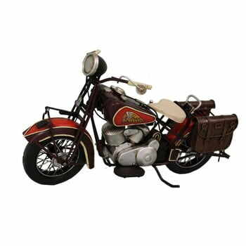Motoretă decorativă Antic Line Red Motocycle la pret 363 lei