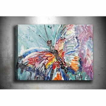 Tablou Tablo Center One Butterfly, 70 x 50 cm