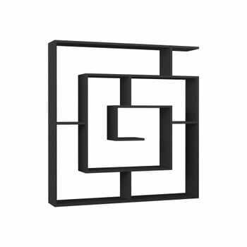 Bibliotecă Maze Anthracite, gri antracit la pret 833 lei