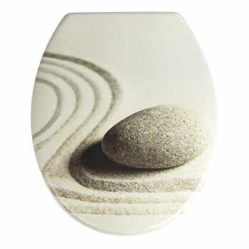 Capac WC cu închidere lentă Wenko Sabbia, 44,5 x 37,5 cm la pret 160 lei