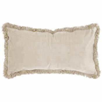 Pernă cu suprafață din catifea PT LIVING, 60 x 30 cm, alb crem la pret 218 lei