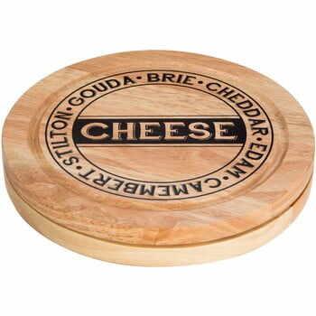 Set tocător pentru brânzeturi cu compartiment pentru stocare și 4 cuțite Premier Housewares la pret 157 lei