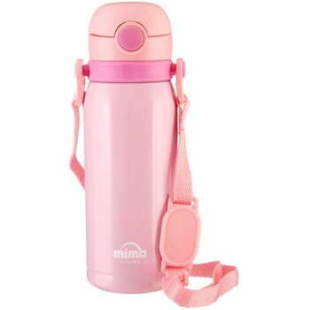 Sticlă termos Premier Housewares Mimo Kids, 450 ml, roz