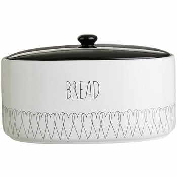 Recipient pentru pâine Premier Housewares Heartlines, 32 x 22 cm la pret 372 lei