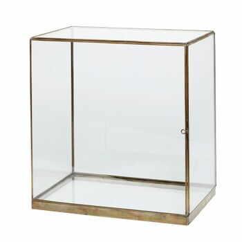 Cutie din sticlă pentru depozitare Hübsch Galeo, 40 x 42 c- la pret 879 lei