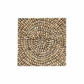Decorațiune de perete din lemn de tec WOOX LIVING Bee, 70 x 70 cm la pret 884 lei