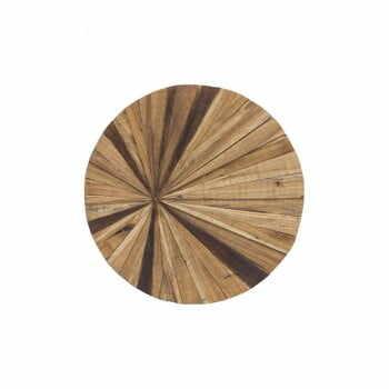 Decorațiune de perete din lemn WOOX LIVING Sun, ⌀ 70 cm la pret 570 lei