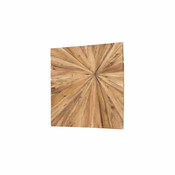 Decorațiune din lemn pentru perete WOOX LIVING Sun, 70 x 70 cm la pret 529 lei