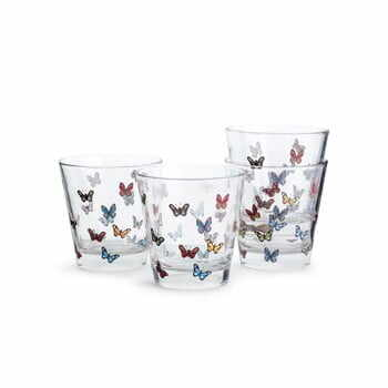 Set 4 pahare Sagaform Butterflies, 200 ml la pret 117 lei