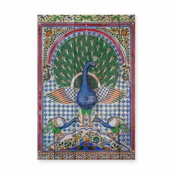 Tablou din lemn de pin Madre Selva Las Palmas, 40 x 60 cm la pret 222 lei
