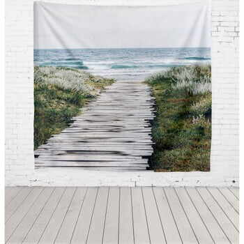 Tapiserie Really Nice Things Beach Way, 140 x 140 cm la pret 185 lei