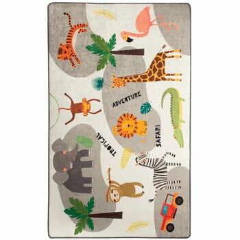 Covor copii Safari, 140 x 190 cm la pret 280 lei