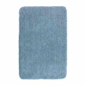 Covor baie Wenko Mélange, 90x60cm, albastru la pret 169 lei