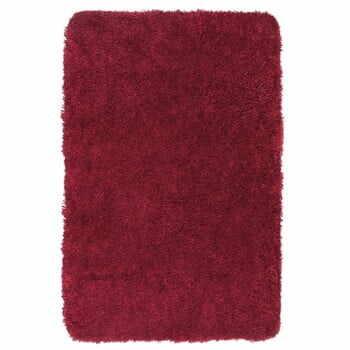 Covor baie Wenko Mélange, 90x60cm, roșu la pret 197 lei