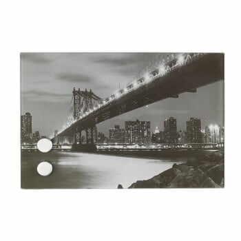 Cutie cu magnet pentru chei Wenko Mahattan Bridge Big la pret 173 lei