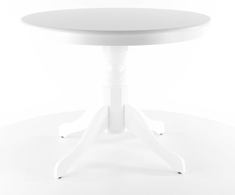 Masa rotunda Windsor alba, Ø100xh75 cm  la pret 713 lei