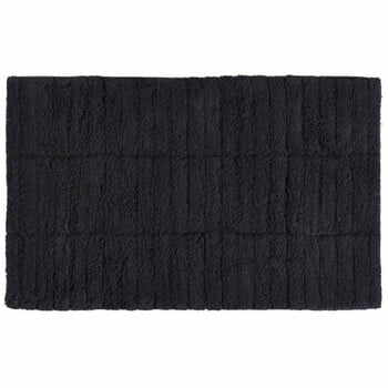 Covor baie din bumbac Zone Tiles, 50 x 80 cm, negru la pret 163 lei