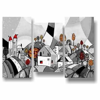 Set de 3 tablouri Landscape, 105 x 150 cm la pret 315 lei