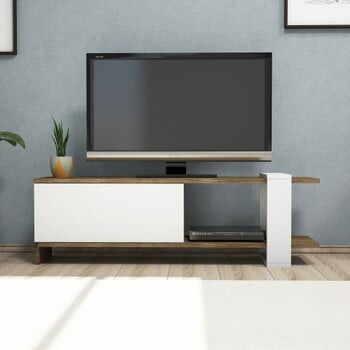 Masă TV Gaye, alb la pret 401 lei
